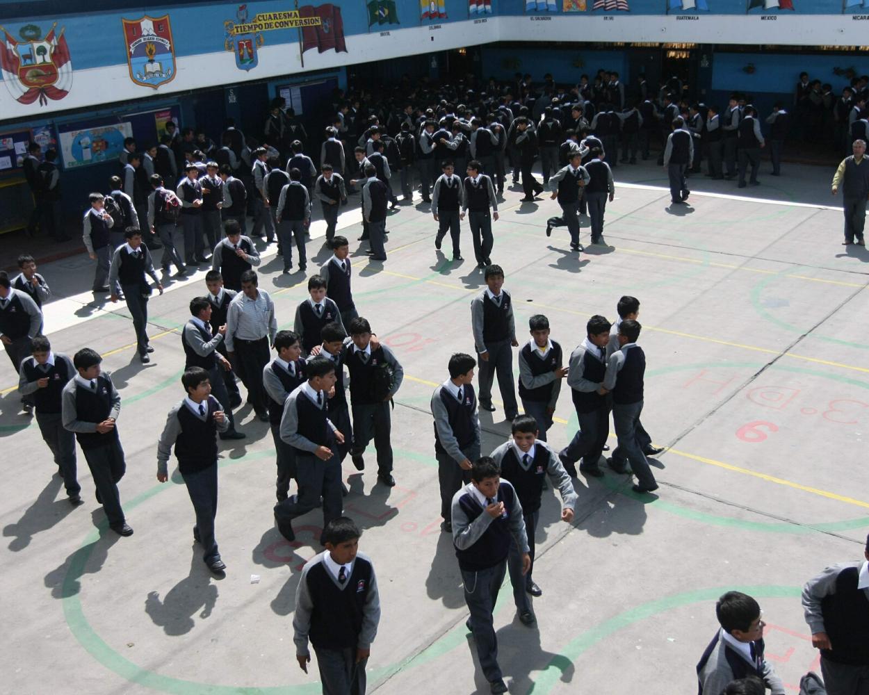colegios públicos venezolanos peru