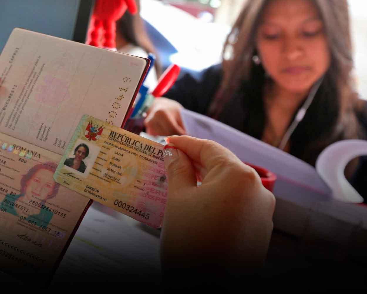 carnet de extranjeria peru venezolanos