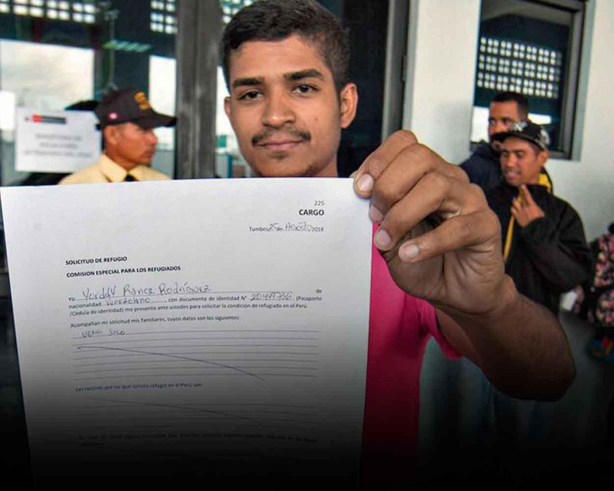 solicitud de refugio venezolano