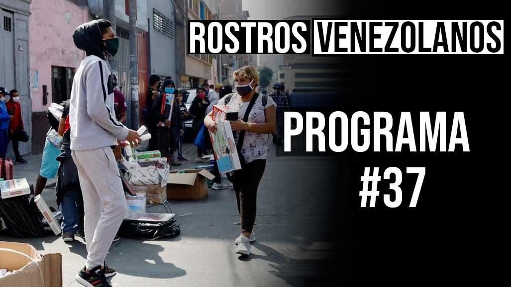 Programa 37 rostros venezolanos
