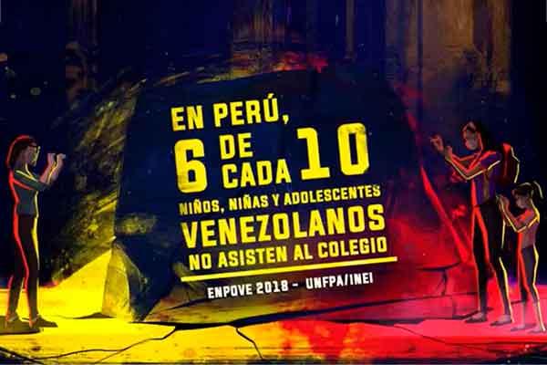 venezolanos en Perú onu