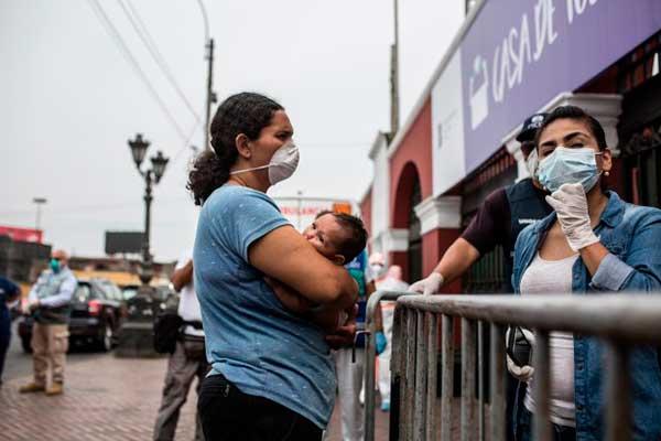 resicencia humanitaria venezolanos peru