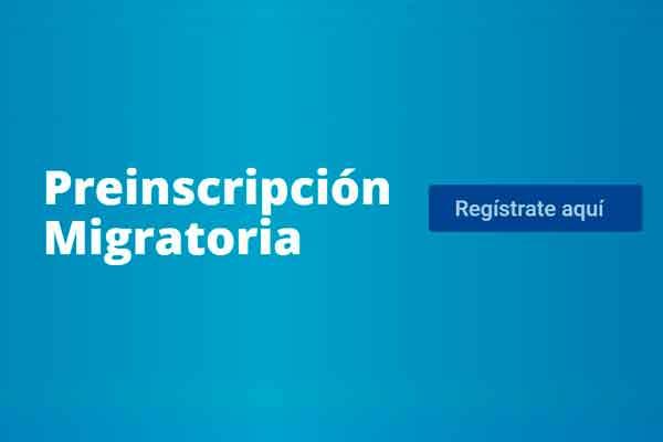 migraciones preincripcion migratoria venezolanos peru