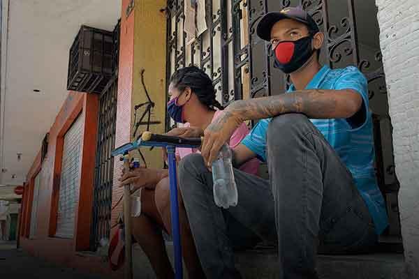 solicitantes de refugio venezolanos