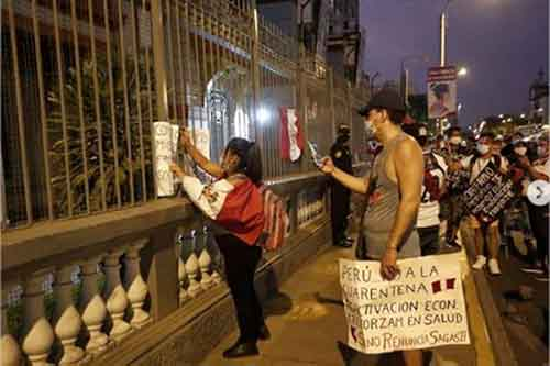 Marcha contra venezolanos Lima, Perú 3