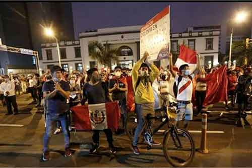 Marcha contra venezolanos Lima, Perú 4