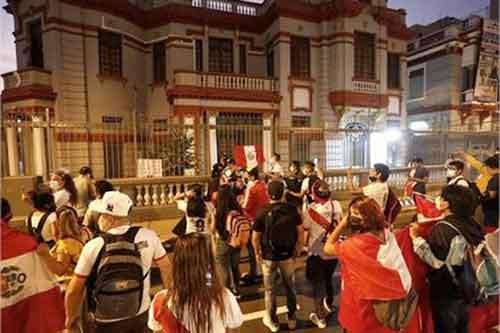 Marcha contra venezolanos Lima, Perú 5