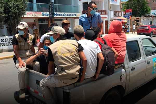 operativos migraciones venezolanos Perú
