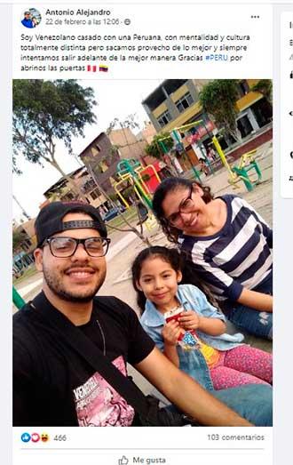 Venezolanos y peruanos 3