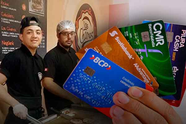 tarjeta crédito extranjeros Perú