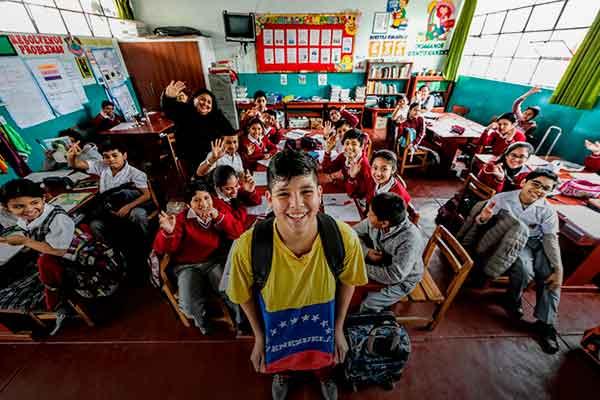 matrícula niños venezolanos Perú