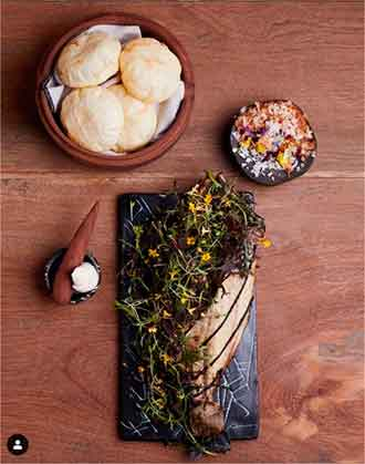 pescado arepa restaurante Merito Barranco Lima