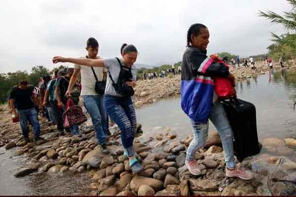 venezolanos trocha preinscripcion migratoria
