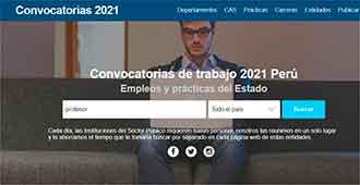 CAS Perú pagina web