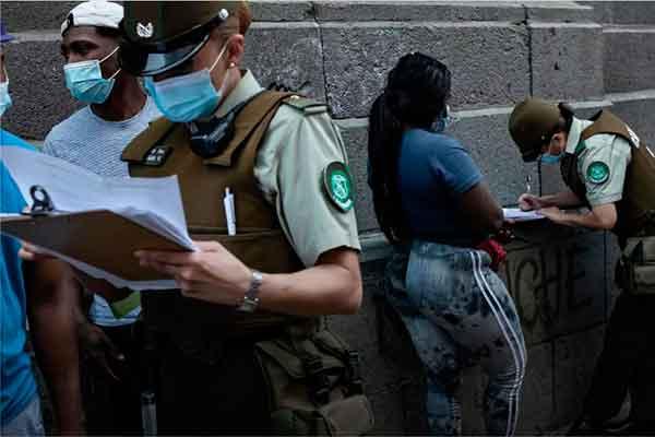 autodenuncia Chile venezolanos regularización