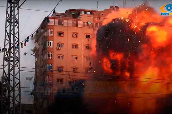 gaza-israel-ataque-edificio-video