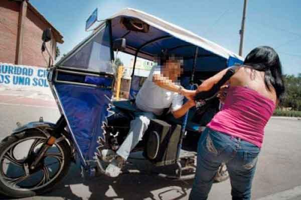 mototaxi venezolanos robo Perú