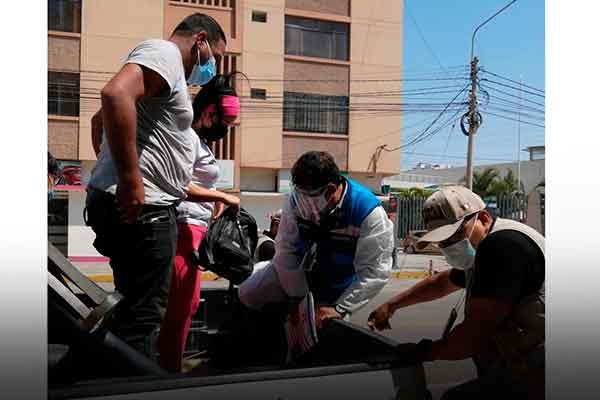 operativos migratorios venezolanos Perú