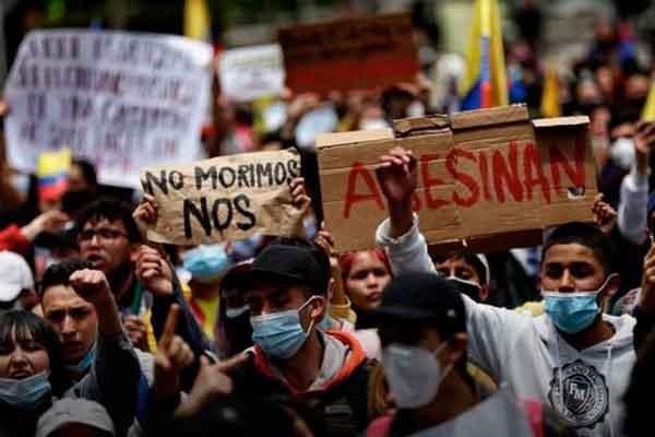 protesta Colombia web duque