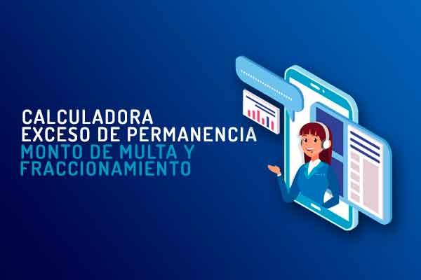 Calculadora multa permanencia Perú