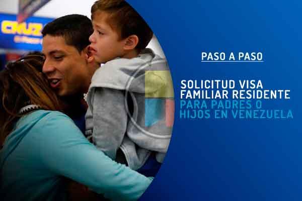 Solicitud visa familiar Venezuela Perú