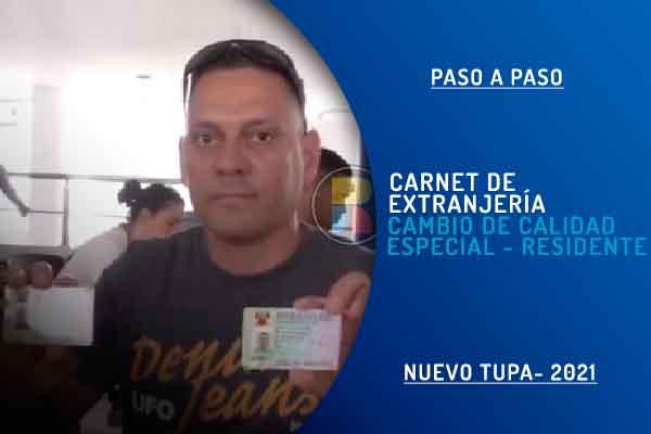 carnet extranjería venezolanos trámite