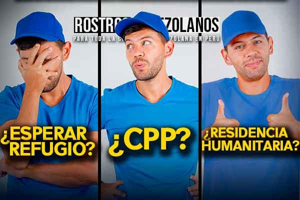 cpp residencia humanitaria solicitantes de refugio venezolanos