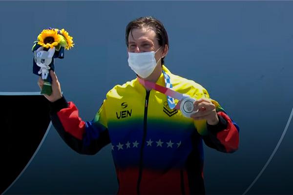 daniel Dhers medalla plata venezuela