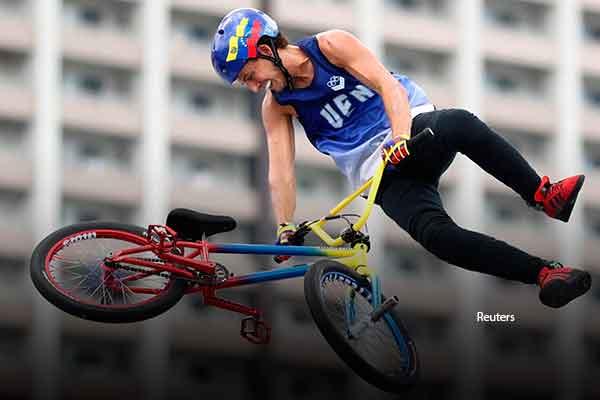 Daniel Dhers Venezuela BMX Tokio