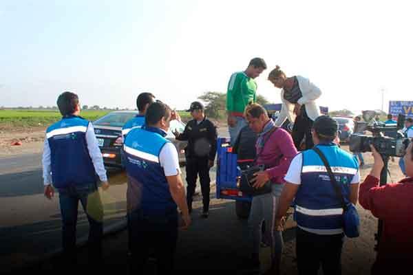 multa irregular migraciones Perú venezolanos