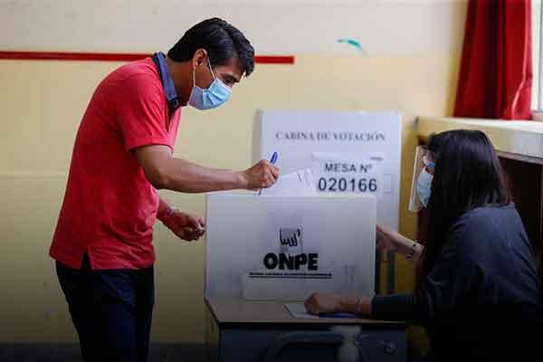 multa venezolanos Peru elecciones 2022 votar