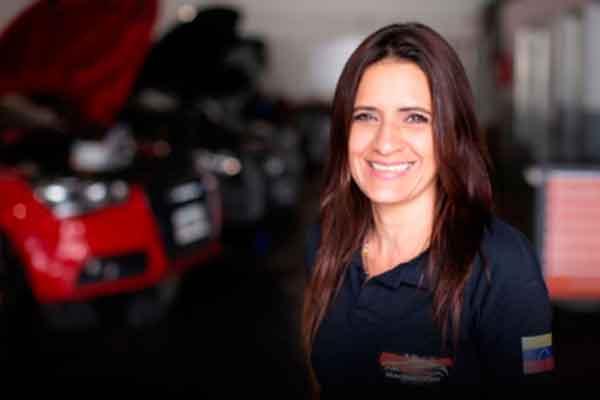 venezolana taller mecánico argentina Samira Salta