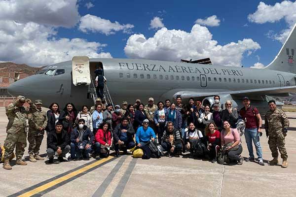 venezolanos ayuda cuzco Perú 3