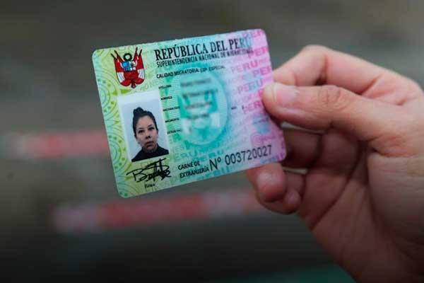 prorroga calidad migratoria humanitaria venezolanos peru