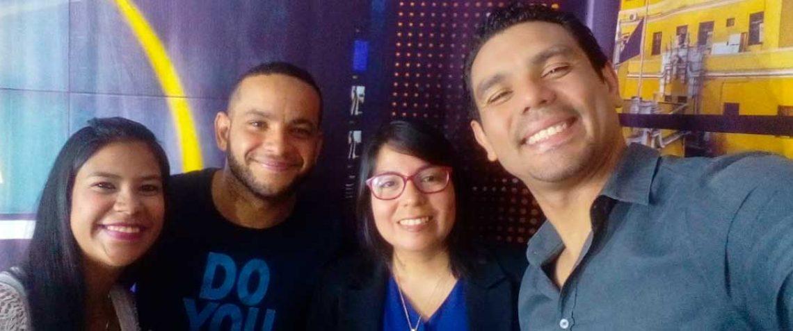 Rostros venezolanos equipo emprendedores